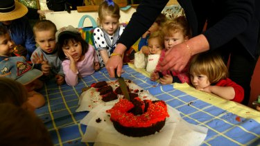 Unlike the children at this nursery, those at Only About Children will not share cakes on their birthdays.