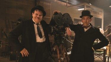John C. Reilly (Oliver Hardy) and Steve Coogan (Stan Laurel).