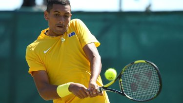 Nick Kyrgios is setting up a base in Loondon.
