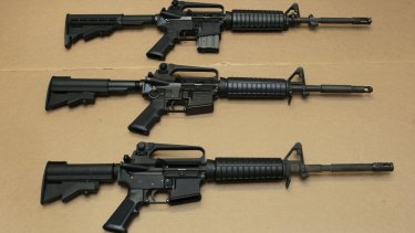 The AR-15 assault rifle.