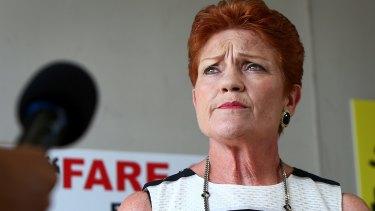 Pauline Hanson has likened her staffer to a son.