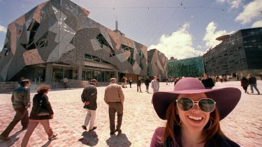 The day Federation Square first opened to the public.