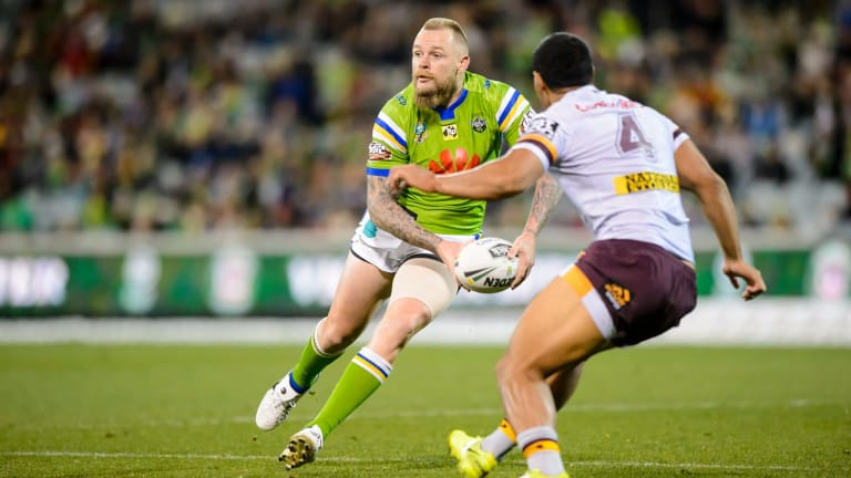The Canberra Raiders are looking to extend five-eighth Blaek Austin's contract.