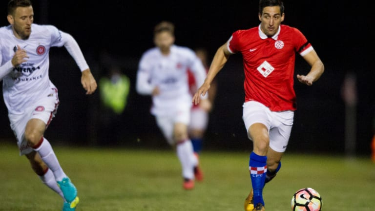Canberra FC are one of two teams who have joined the newly formed Australian Association of Football Clubs.