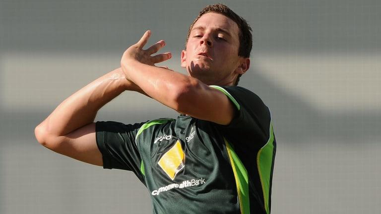 Test debut: Josh Hazlewood.