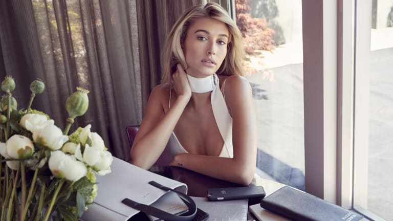 Australian personalised accessories brand The Daily Edited has signed Hailey Baldwin as new brand ambassador.