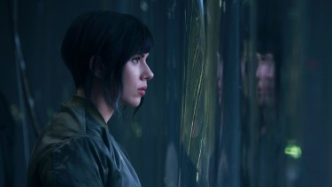 Scarlett Johansson plays The Major in <i>Ghost in the Shell</i>.