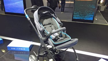 Too posh to push? This robot stroller is for you.