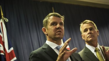 Instigator: Premier Mike Baird proposed the law changes.