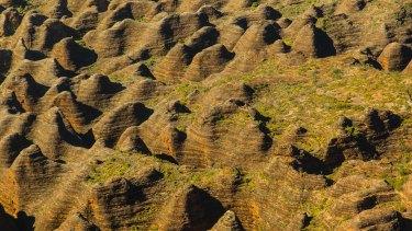 UNESCO designates world heritage sites such as the Bungle Bungles in the Kimberley Region of Northwest Australia.