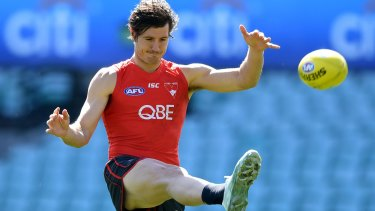 The Swans insist Kurt Tippett is not up for trade.