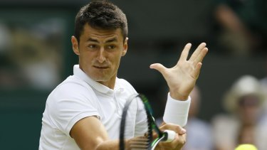 'It's not about the money. It's about the respect' ... Bernard Tomic complained about his treatment by Pat Rafter and Tennis Australia shortly after being defeated by Novak Djokovic at Wimbledon.