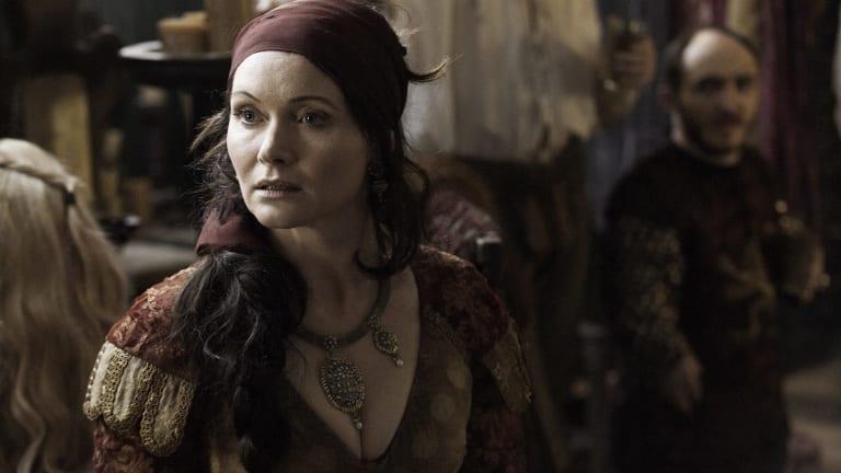 Essie Davis as Lady Crane in Game of Thrones season 6 episode 8 'No One'.