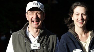 To spend quality time with his wife MacKenzie and their four children, Bezos never schedules early morning meetings.