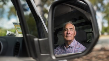 Chairman of the Canberra Taxi Industry Association, John McKeough: If we don't get compensated I'll be on the pension.