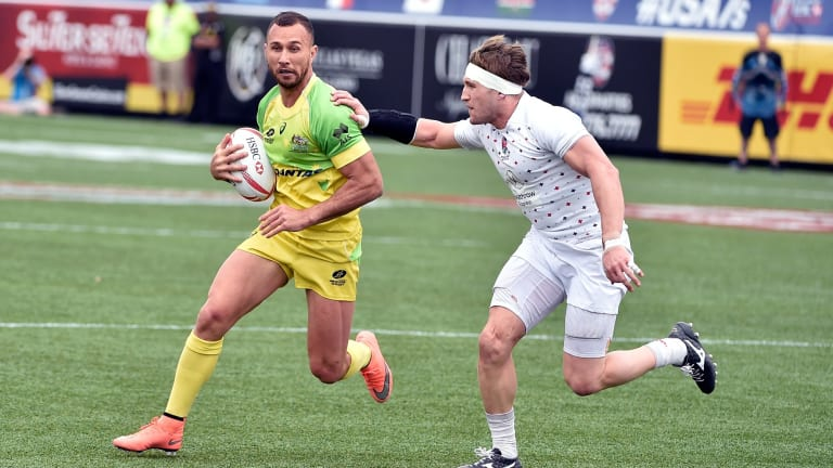 Limited impact: Quade Cooper won't be going to Rio with the Australian Sevens team.