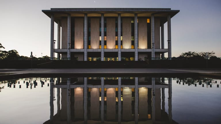 The National Library of Australia.