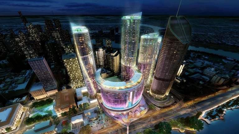 Echo Entertainment's proposal for Queen's Wharf casino.