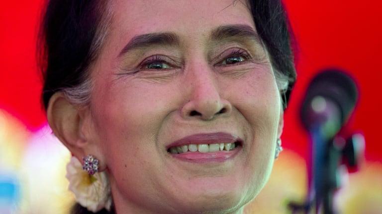 Aung San Suu Kyi: One of the world's genuine heroes.