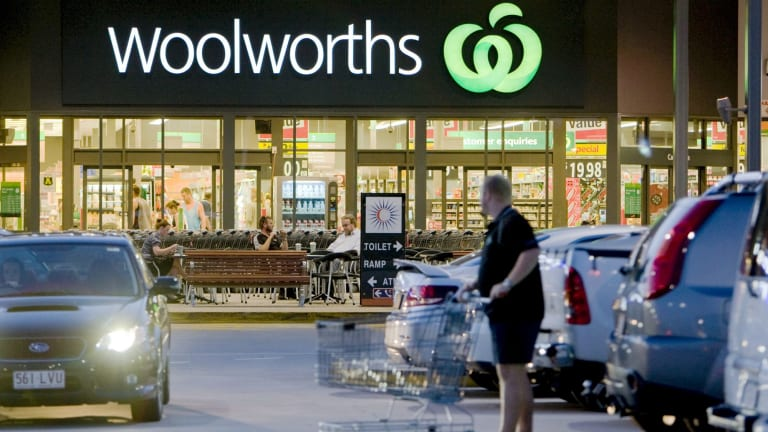 Woolworths remains at No. 2 on the top company list.