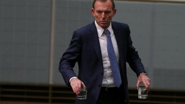 Tony Abbott's 'Warringah plan' attracted the support of some conservative MPs.
