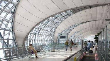 Bangkok International Suvarnabhumi Airport, where the incident took place.
