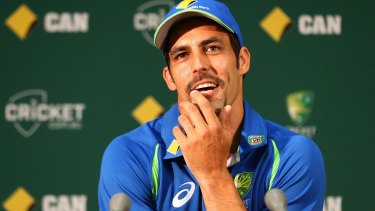 Mitchell Johnson is joining is Perth Scorchers.