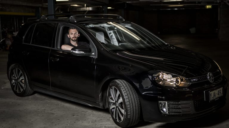 Justin Graf purchased his Golf GTD in 2012 from a Canberra dealer. He was angry when he learned the company he had trusted for decades had deliberately deceived customers.