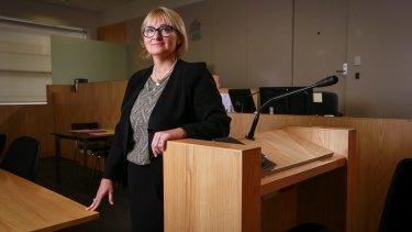 Children's Court Justice Amanda Chambers.