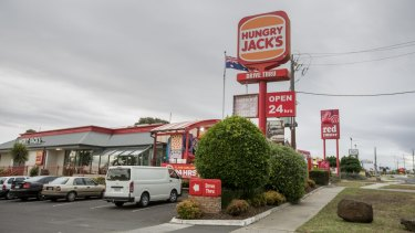 Hourly pay at Hungry Jack's is barely above the award, with no provision for penalties and lower casual loadings.