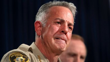 Clark County sheriff Joe Lombardo said Paddock was losing money and suffered bouts of depression.