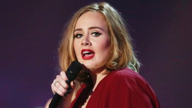Adele spoke about suffering from post-natal depression after the birth of her son.