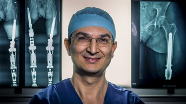"""I come from a war-torn region where people regularly lost limbs"": Dr Munjed Al Muderis."