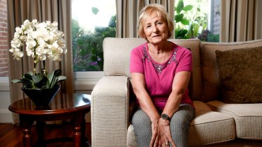 Jo Duff believes magnetic brain stimulation improved her Alzheimer's.