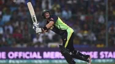 Final farewell: Shane Watson bats during the ICC World Twenty20 tournament.