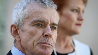 One Nation senators Malcolm Roberts and Pauline Hanson welcomed the NEG.