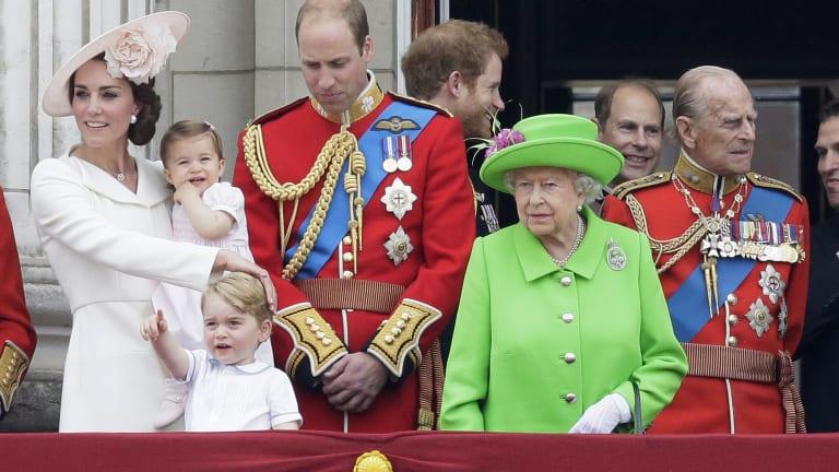 A family of future leaders of Australia.