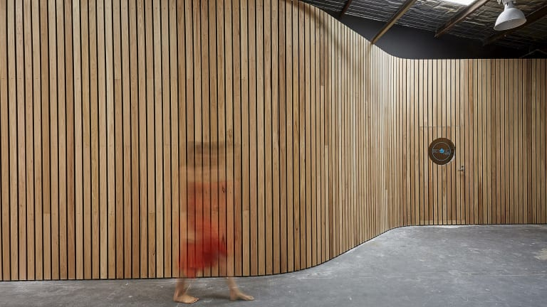 The new fitout for the Beyond Rest flotation centre in Prahran.