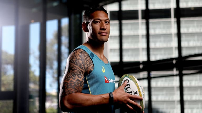 He's back: Israel Folau is refreshed and ready to go for the Waratahs.