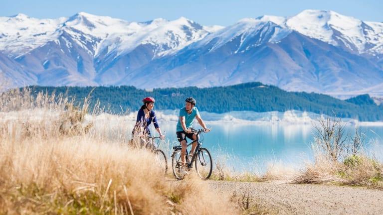Alps2Ocean cycle trail.