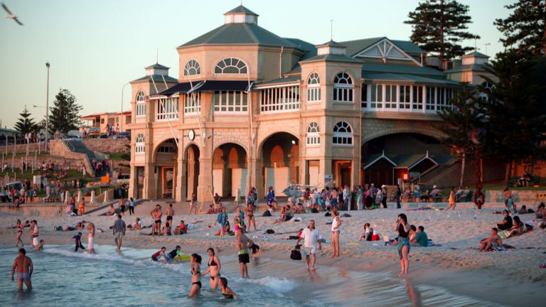 Cottesloe Beach is the face of Perth in the CNN post.