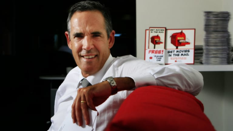 Quickflix chief executive Stephen Langsford founded Quickflix more than a decade ago as a DVD rental business based in Perth.