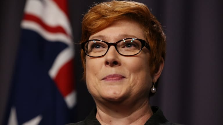"""""""Members of the Australian Defence Force operate under strict rules of engagement"""": Marise Payne."""