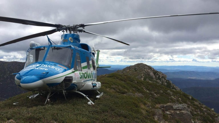 The Southcare helicopter was on the scene of a serious crash on the Kings Highway on Saturday afternoon.