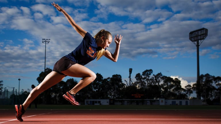 Canberra Sprinter Sarah Blizzard Chases Stawell Gift Title For Run