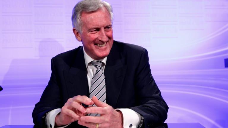 Power shock: Former Liberal party leader John Hewson is spruiking on behalf of GetUp!