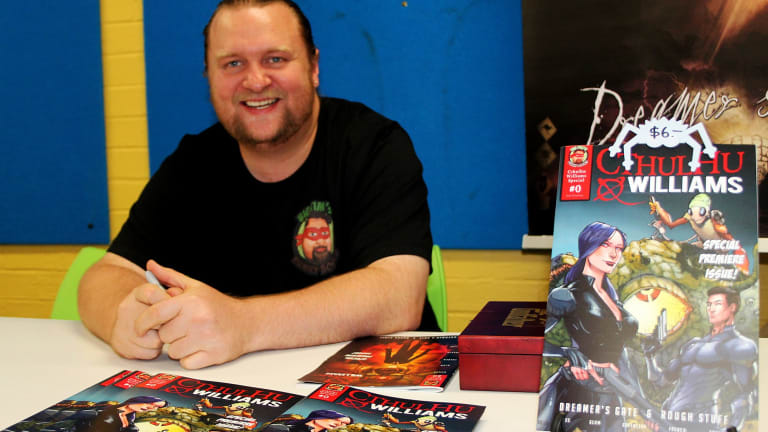 Queanbeyan's Tim Stiles has published his first solo comic book.