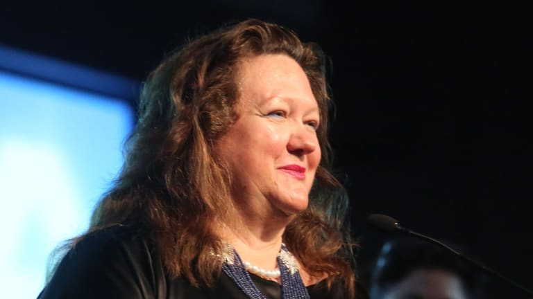 Gina Rinehart's Hancock Prospecting now owns 67 per cent of S. Kidman and Co, while partner Shanghai CRED has a one-third minority stake.