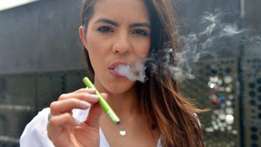 Nearly a quarter of people aged between 18 and 24 were found to have tried electronic cigarettes, according to  a Cancer Council survey.