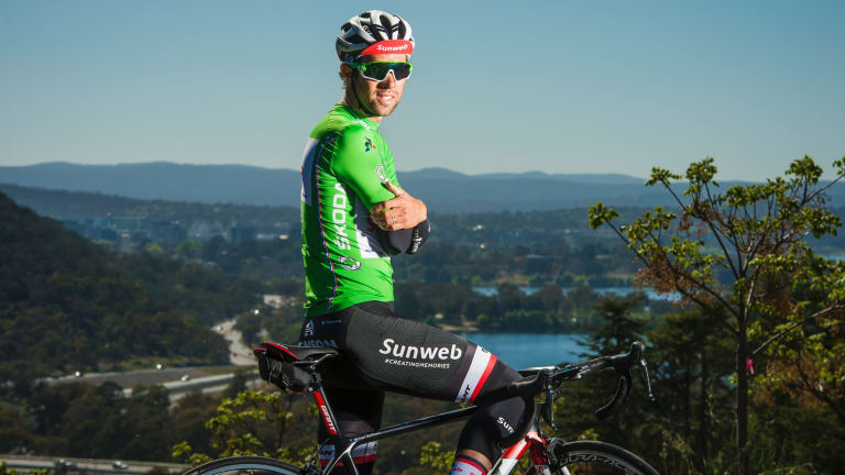 Holding onto his green jersey isn't the focus for Team Sunweb sprinter  Michael Matthews.